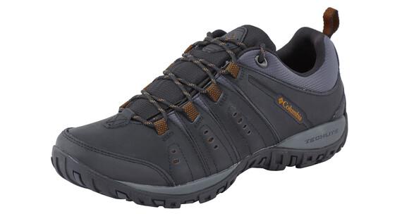 Columbia Peakfreak Woodburn II Shoes Men black / goldenrod